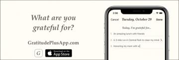 Gratitude Plus App